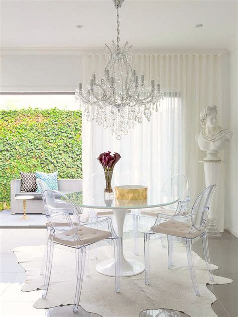 ideas  ghost chairs  pinterest ghost chairs dining clear chairs  acrylic chair