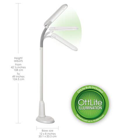 ottlite led desk l with color cord ottlite in led magnifier floor and light magnifier