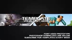 cool channel templates cool channel gaming template www imgkid
