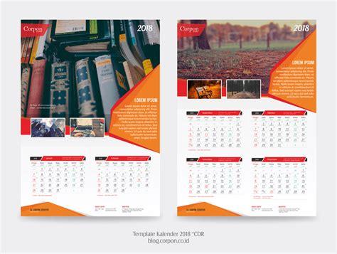 desain kalender meja keren download template kalender 2018 gratis jago desain