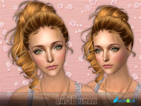 the sims 2 downloads fringe hairstyles newsea sims2 hair j048f lamb