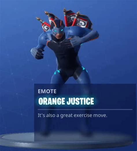 fortnite orange justice gif fortnite season 4 new battlepass skins sprays and emotes
