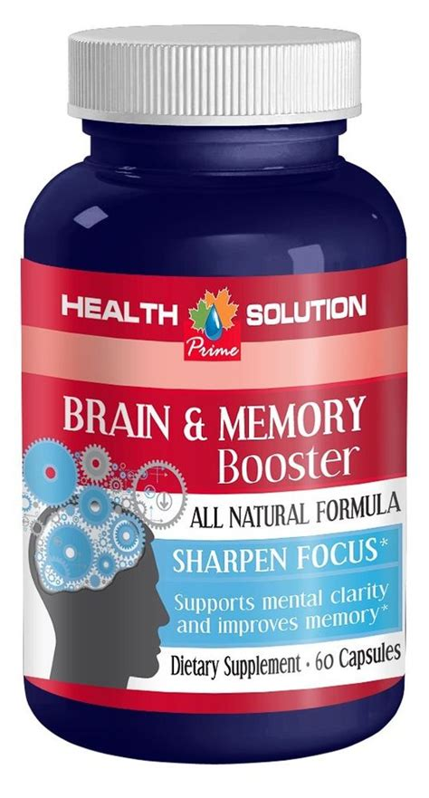 supplement memory brain memory booster supplement supports and maintains
