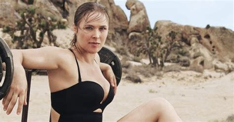 rhonda haberer badlands pics ronda rousey looks fighting fit ahead of her