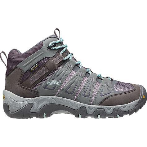 boat shoes townsville keen oakridge mid waterproof hiking boot women s