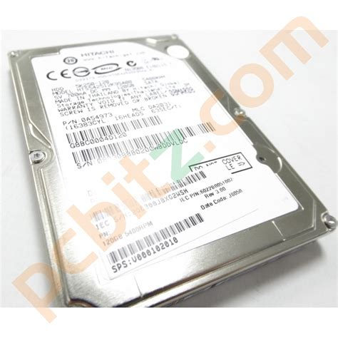 Hardisk Laptop 120gb hitachi hts542512k9sa00 120gb sata 2 5 quot laptop drive