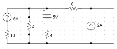 four 10 ohm resistors are connected in parallel what is the equivalent resistance thevenin and norton equivalent circuits