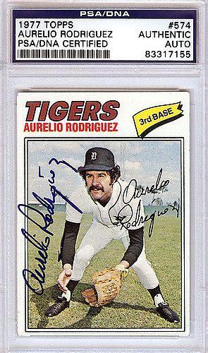 Aurelios Gift Card - aurelio rodriguez detroit tigers autographed 1977 topps card psa dna authentic