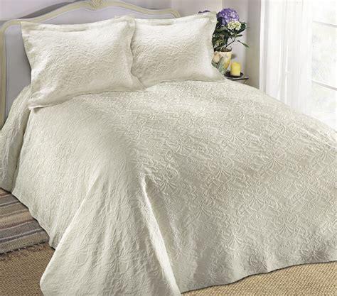 matelasse coverlets king tropicana matelasse ivory bedspread