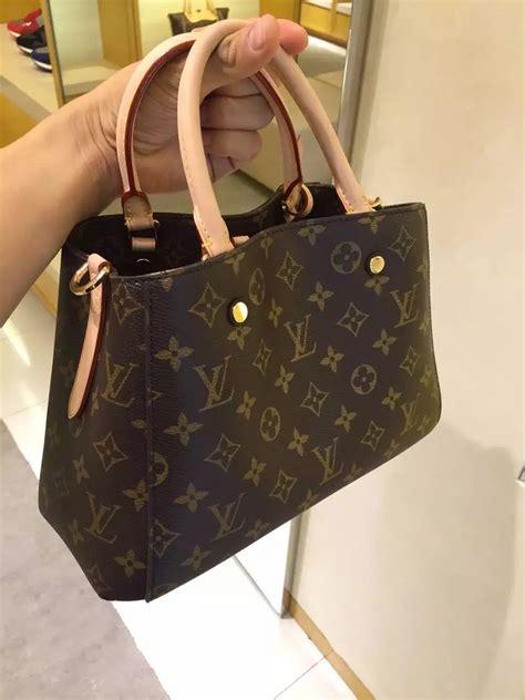 Tas Louis Vuitton Montaigne M41055 authentic louis vuitton monogram canvas montaigne bb bag m41055 louis vuitton