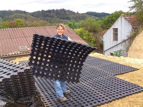 rasengittersteine aus kunststoff rasengittersteine rgs35 aus kunststoff ohne unterbau