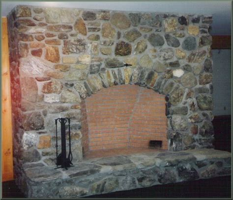 fieldstone fireplace 2