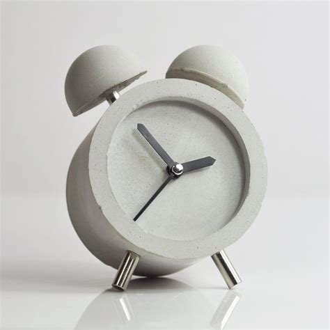 modern alarm clock design diy concrete clock diy home i this board is closed diy concrete design and mesas