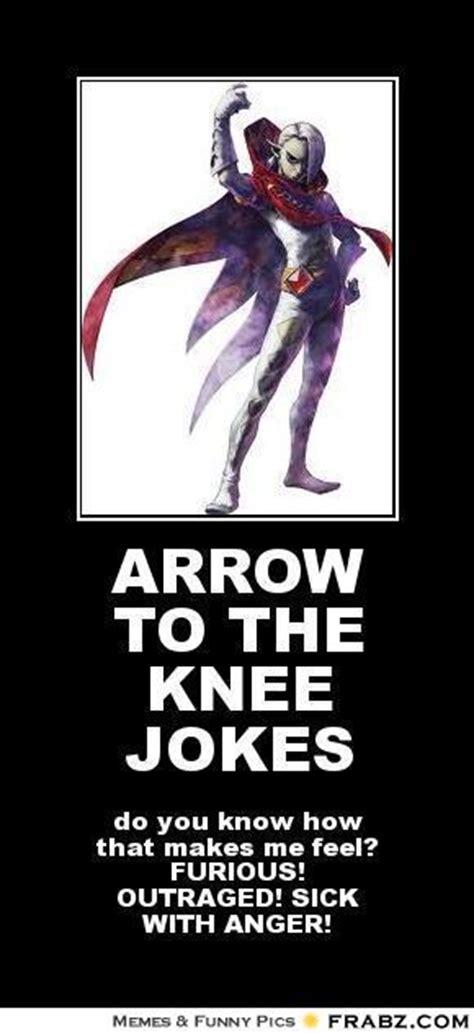 You Make Me Sick Meme - arrow to the knee jokes meme generator posterizer
