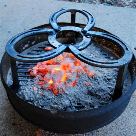 Backyard Creations Cast Iron Pit Pit Insert Cooking C Ring Outdoor Cast