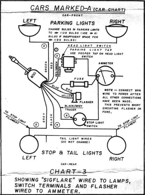 wiring diagram for old chrome clamp on turn signal | Page