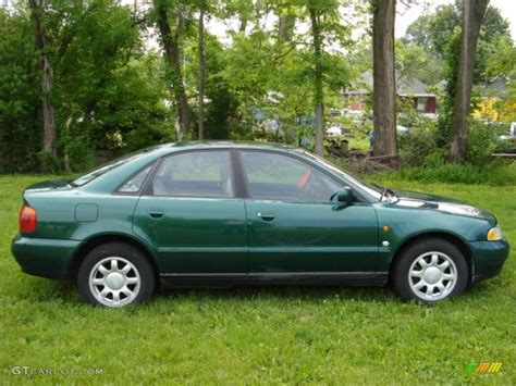 1997 Audi A4 Quattro by 1997 Cactus Green Metallic Audi A4 1 8t Quattro Sedan