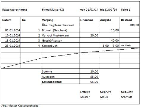 Rechnung Kleinunternehmer Pflicht Kassenbuch Richtig F 252 Hren Alle Anforderungen Im 220 Berblick