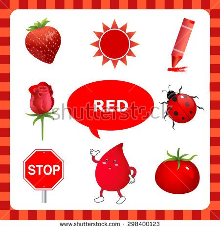 red is the color of the day children s song red colors image gallery objects that are red