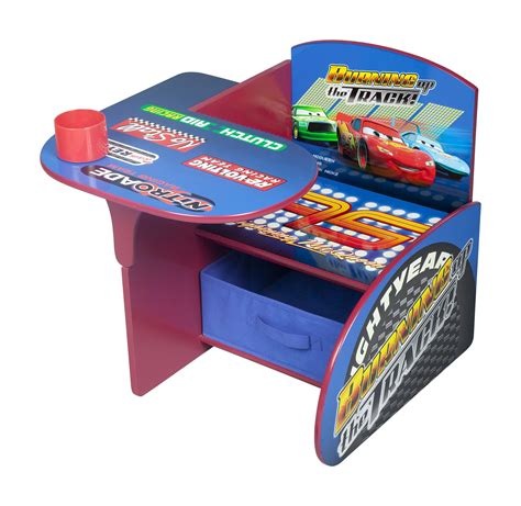 Delta Children Chair Desk With Storage Bin Disney Pixar Cars by Delta Children Deluxe Book Organizer