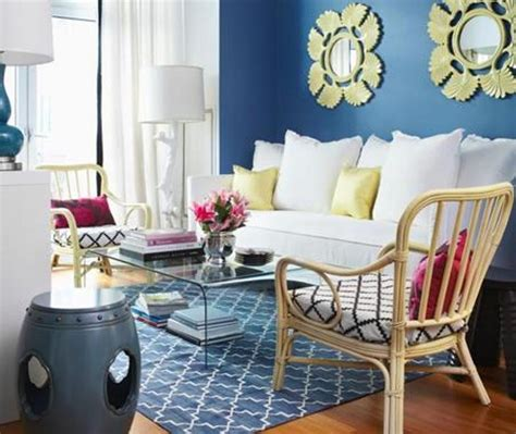 blue and yellow decor 20 charming blue and yellow living room design ideas rilane