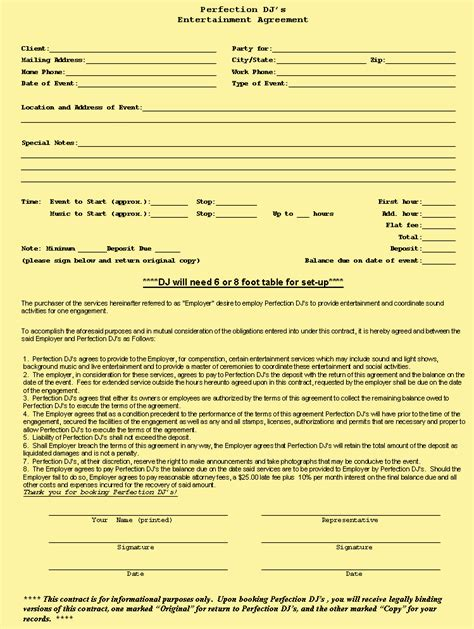 free contract agreement template doc 506600 construction contract agreement sle