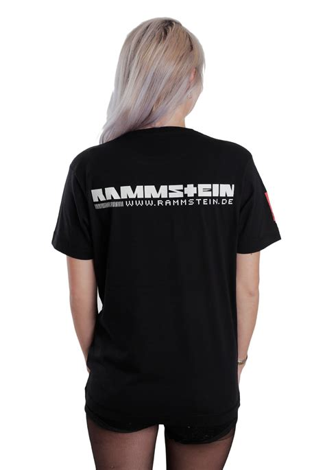 Tshirt Rammstein rammstein logo t shirt offici 235 le alternative rock