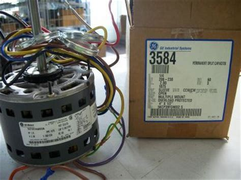 looking for blower motor capacitor ge 1 4 hp blower motor model 3584 with capacitor