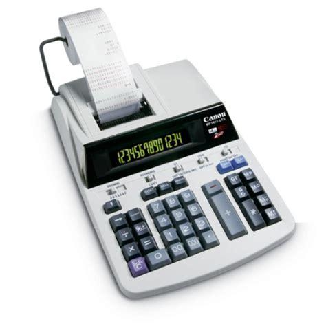 calculator zile lucratoare calculator de birou cu banda 14 digiti canon mp1411 lts