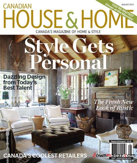 home design magazines canada canadian house home august 2010 187 pdf magazines magazines commumity