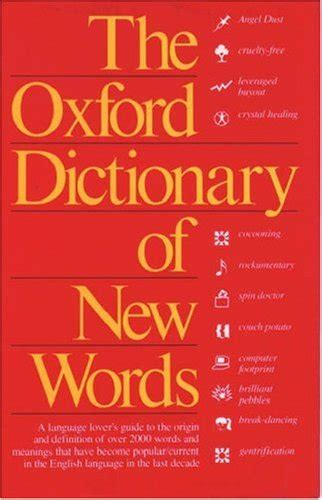 Pdf New Words In The Oxford Dictionary the oxford dictionary of new words avaxhome