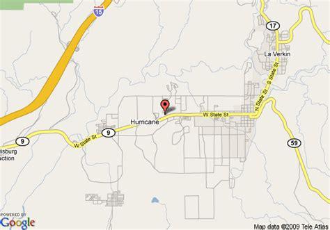 Comfort Inn Hurricane by Map Of Comfort Inn Zion Hurricane