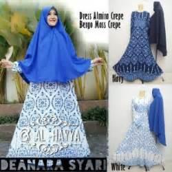 Gamis Deanara Syari by Gamis Etnik Deanara Syar I Premium Baju Muslim Terbaru