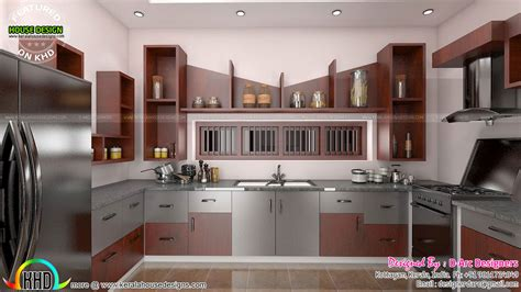 modern kitchen interior 2016 modern interiors design trends kerala home design