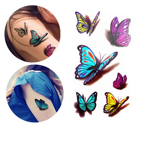 butterfly tattoo cost compare prices on 3d butterfly tattoos online shopping