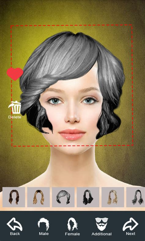 Hairstyle Changer by Hairstyle Changer App Makeover