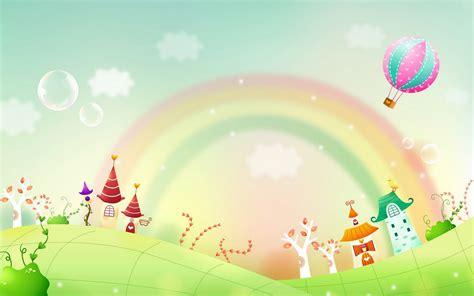 gambar wallpaper cantik lucu gambar dunia kartun fantasi yang cantik cantik