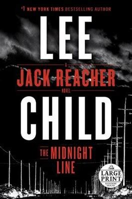 the midnight line jack 0593078187 midnight line large print paperback lee child target