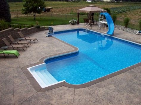 l shaped swimming pool pools pinterest