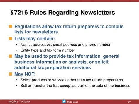 irc section 7216 tailor made tax practice quality controls presented at the