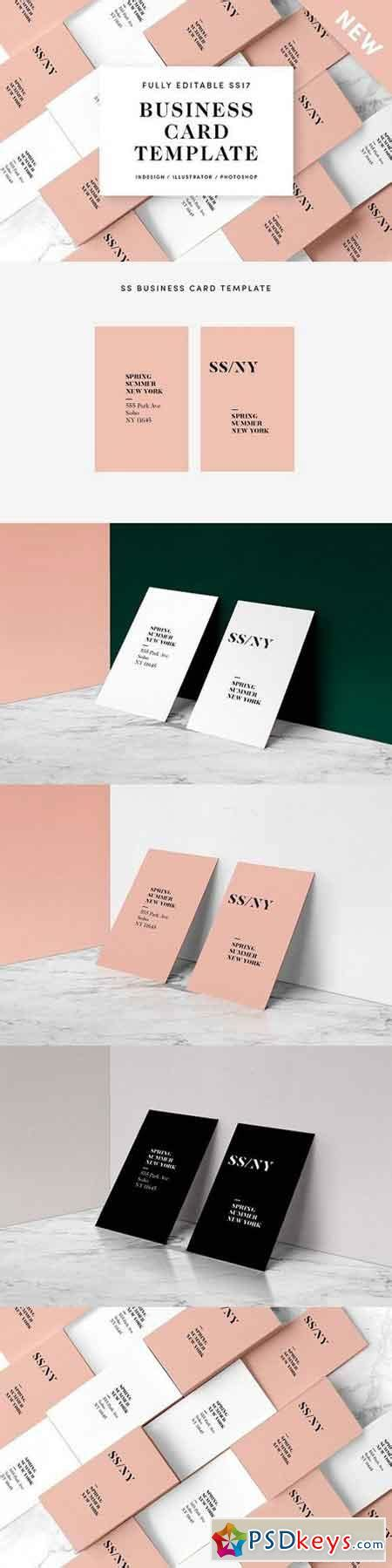 ss fashion business card template 1151598 187 free download