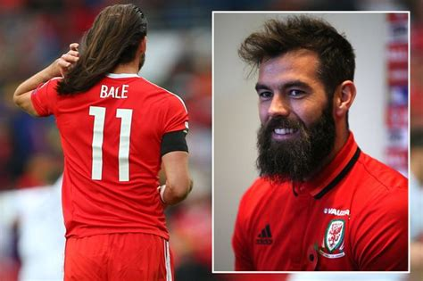 how to do your hair like bale gareth bale may make 163 360 000 a week now but wales pals