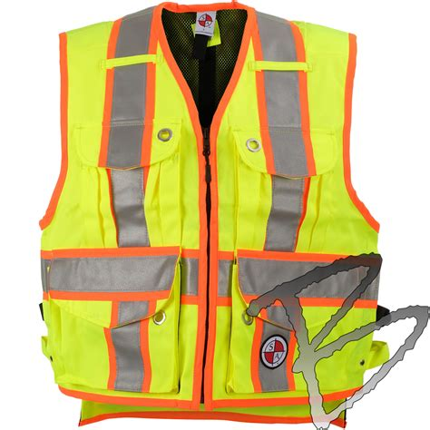 Heckenschere Dicke äste 2162 by Safety Apparel Quot The Chief Quot Survey Vest Yellow