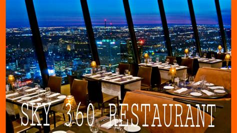 checking  sky  restaurant calgary youtube