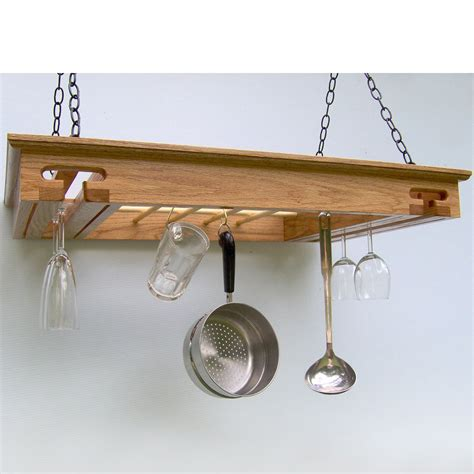 Ceiling Pot Holder by Hanging Pot Rack Stemware Holder In Hanging Pot Racks