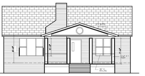 house porch drawing exterior my auction house rehab