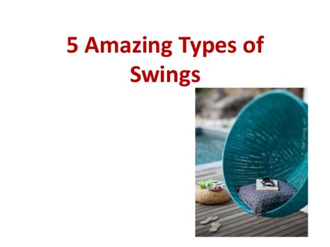 type of swings 5 amazing types of wooden jhula swing for relaxing in a