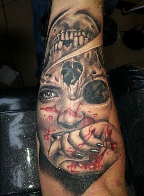zombie tattoo images designs