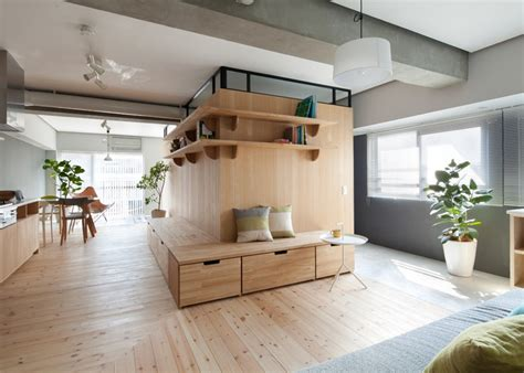Japanese Style Apartment | two apartments in modern minimalist japanese style
