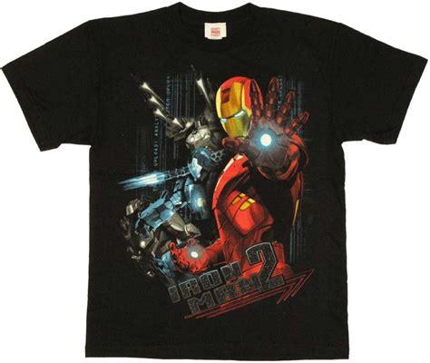 T Shirts Kaos Iron Man2 iron 2 duo youth t shirt